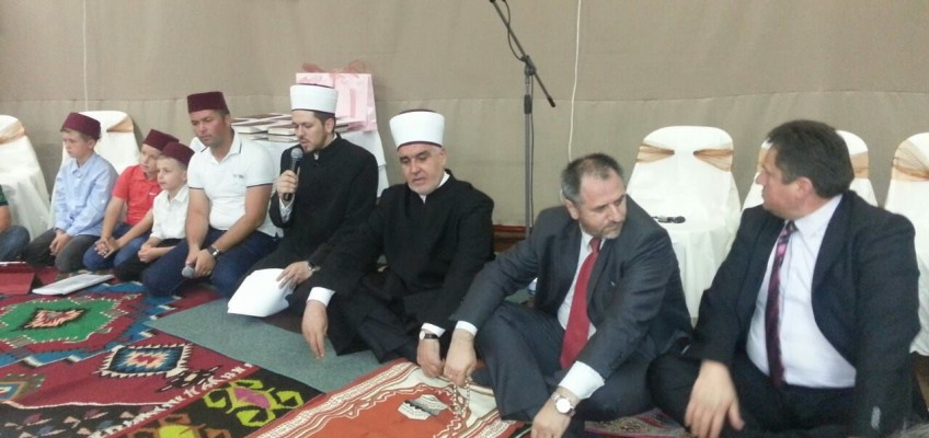 Visit from Reis-ul-ulema