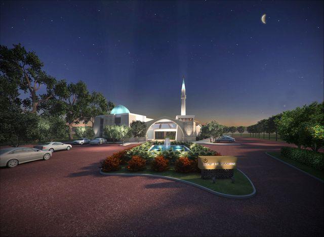 Islamic Centre 3D Model