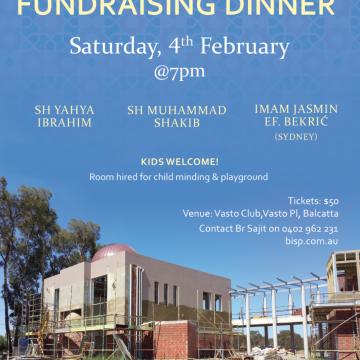 Fundraising Dinner 4th Feb 2017