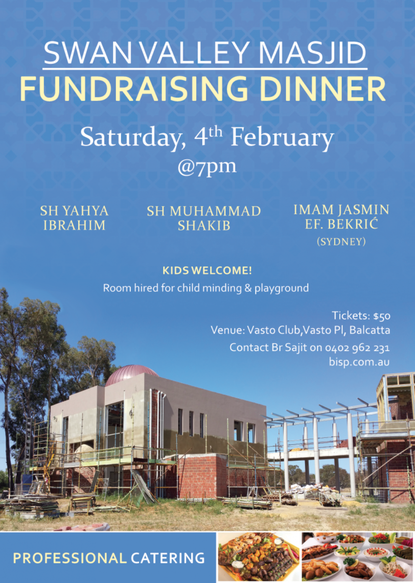 Fundraising Dinner 4th Feb 2017