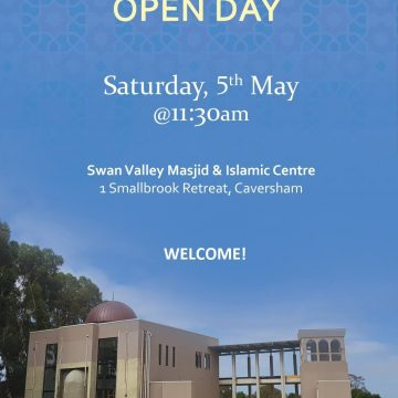 Swan Valley Masjid Open Day