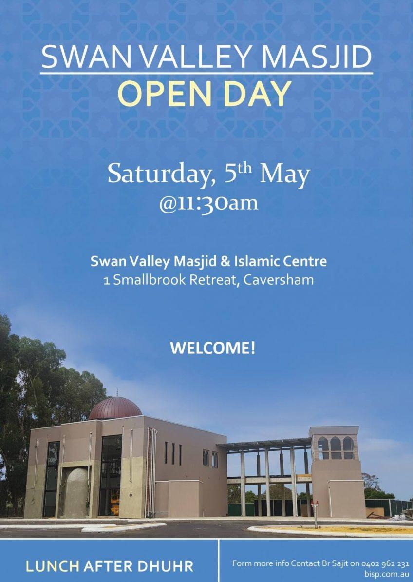 Swan Valley Masjid Open Day